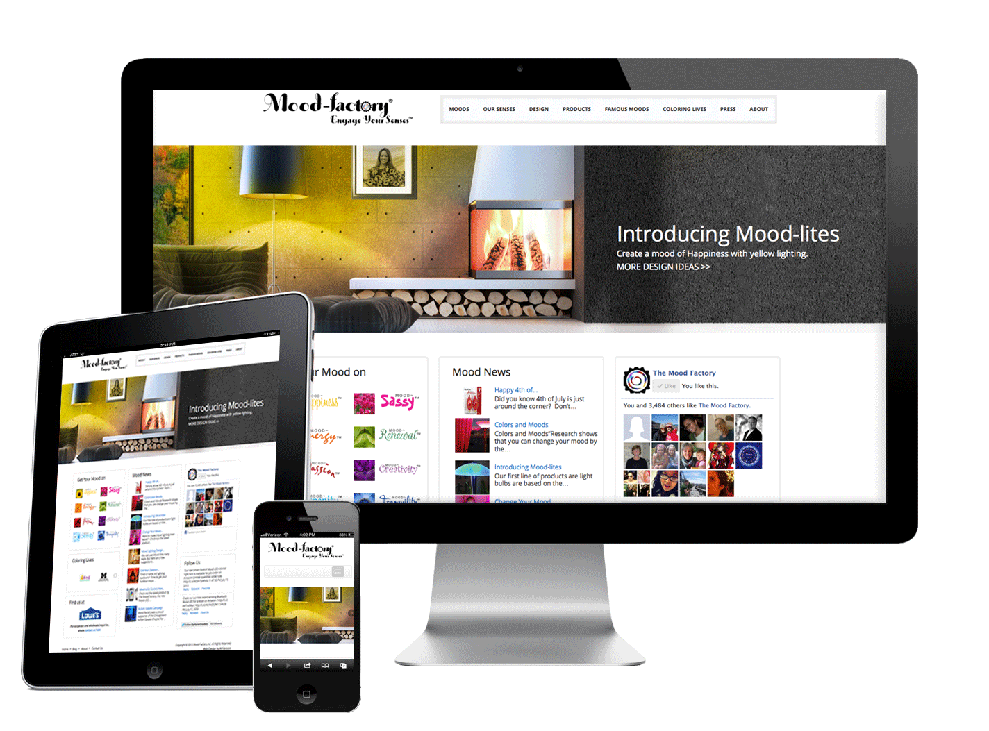 Award winning responsive website design development for Architecture site web
