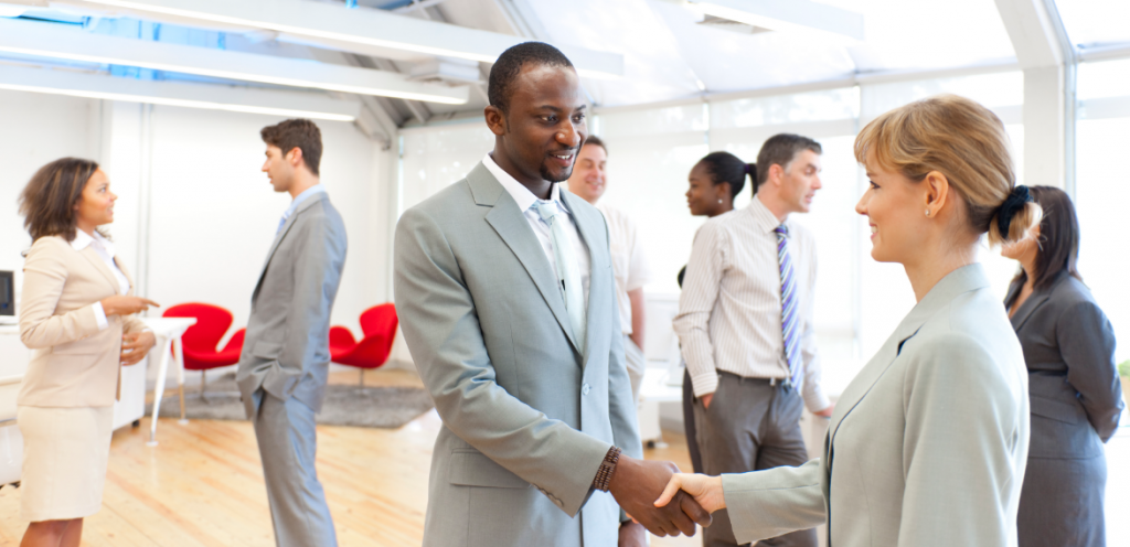 business networking promotes growth