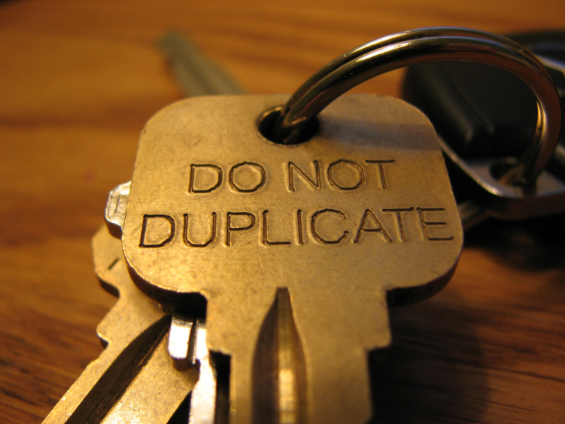 avoid duplicate content problems